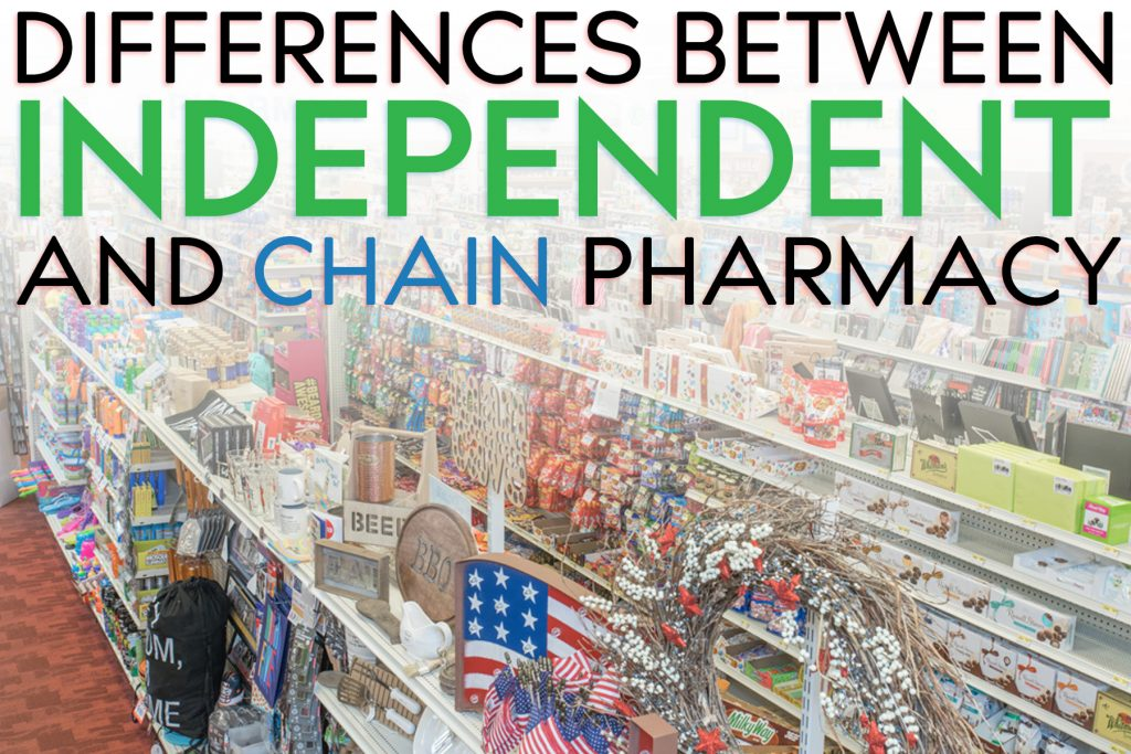 The Differences Between Independent and Chain Pharmacies
