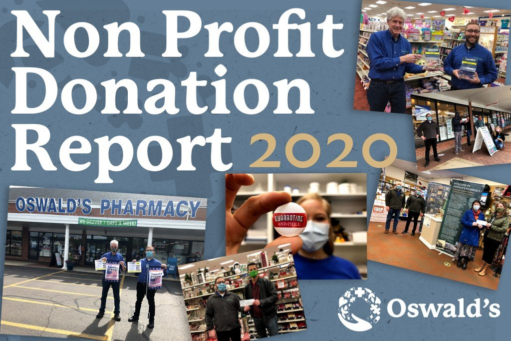 Oswald's Non-Profit Donations Report 2020