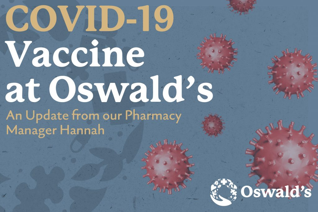COVID-19 Vaccine at Oswald's Pharmacy