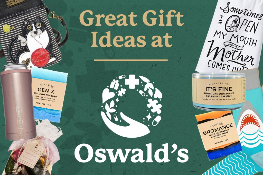 Great Gift Ideas at Oswald's