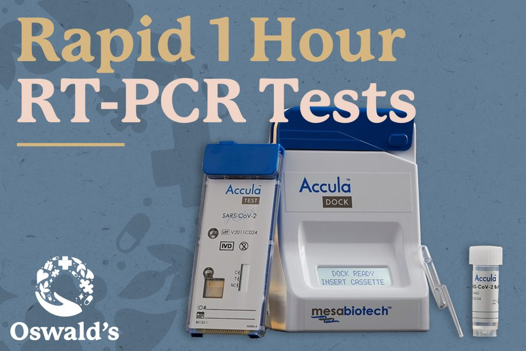 Drive-Up COVID-19 RT-PCR Testing 1 Hour Results
